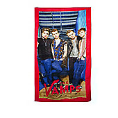 The Vamps Beach Printed Towel