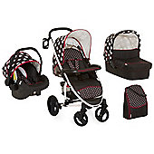 Hauck Malibu XL All in One Travel System - Dots Black