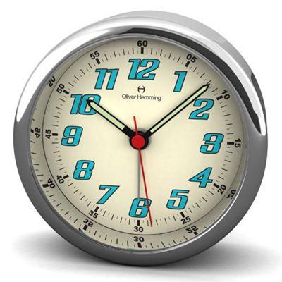 Oliver Hemming Handy Night Light Alarm Wall Clock