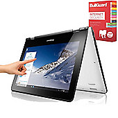 "Lenovo Yoga 300 - 80M100S4UK - 11.6"" Convertible Laptop Intel Celeron N3060 4GB 500GB Win 10 with Internet Security"