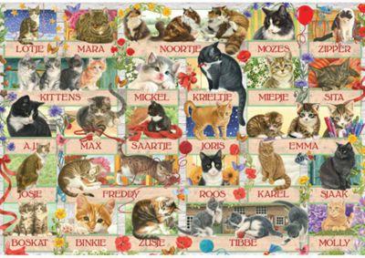 Cat Anniversary - Franciens - 1000pc Puzzle