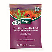 Kneipp Red Poppy & Hemp Pure Bliss Bath Salts 60g