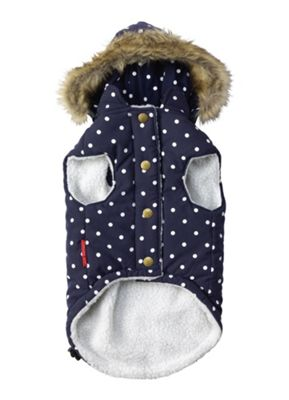 Polka Dot Gilet Navy - Small