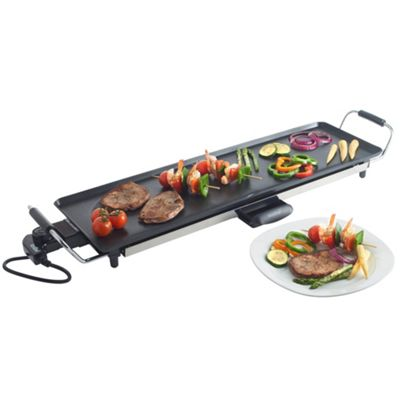 VonShef Electric XL Teppanyaki Style Barbecue Table Grill - 2000W
