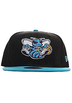 New Era New Orleans Hornets 59FIFTY Baseball Cap Black / Turquoise - Black