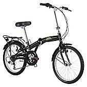 "Freespirit Darley 20"" Wheel Unisex Folding Bike Black"