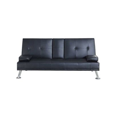 Leather Sofa Bed with BLUETOOTH Speakers in Black from our Sofa Beds