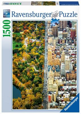 Divided City - New York - 1500pc Puzzle
