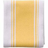 Now Designs Single Symmetry Tea Towel, Lemon Yellow
