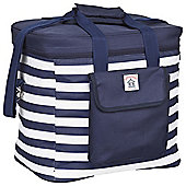 Navigate Coastal Breton Stripe Cool Bag - 20 Litres