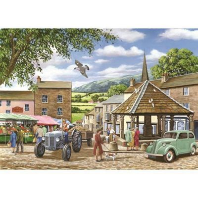 Market Town - 500pc Puzzle