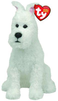 Ty Beanie Babies - Snowy the Dog