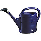 5L Blue Plastic Garden Watering Can with Rose