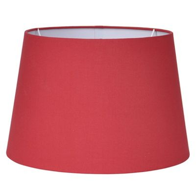 30cm Redcurrant Tapered Poly Cotton Shade