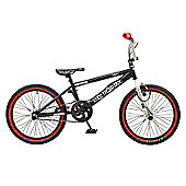 Rooster Big Daddy 20 BMX Black/White with Spoke Wheels
