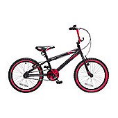 "Concept Shark 18"" Wheel Kids BMX Bike Black/Red"