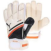 Puma King Regular Cut Mens Goalkeeper Goalie Glove - White