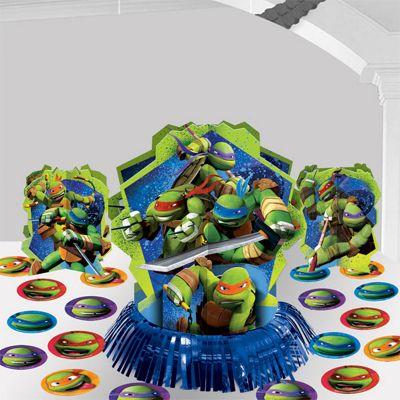 Ninja Turtles Table Decorating Kit - 31cm
