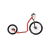 Crussis Cross 6.1 26/20in Wheel Adults Kick Scooter Orange