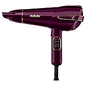 BaByliss 5560KU Elegance Fast Drying 2100W Ionic Ceramic Hair Dryer - Purple