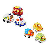 Vtech Toot Toot Bundle 2 Pack 3 Everyday Vehicles And 3 Emergency Vehicles