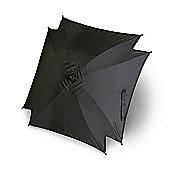 Universal Buggy/Stroller Sun Parasol - Sun Umbrella Shade Canopy - Black