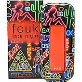 FCUK Late Night Him Eau de Toilette (EDT) 100ml Spray For Men