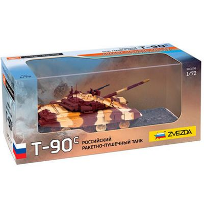 ZVESDA 2500 Russian MBT T-90 1:72 Tank Model Kit