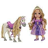 Disney Princess Rapunzal Doll With Maximus