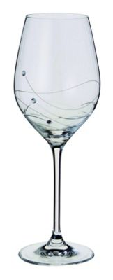 Dartington Crystal - Glitz Collection Wine Glass Pair