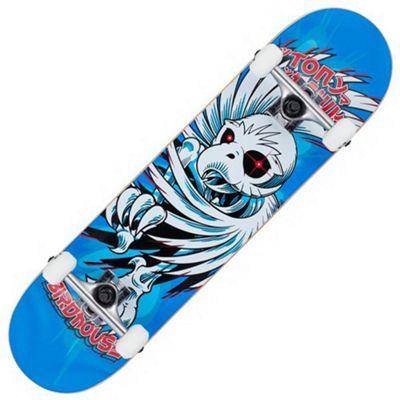 Birdhouse Stage 1 Hawk Spiral 7.75 Complete Skateboard - Blue