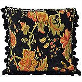Riva Home Fairvale Black Cushion Cover - 55x55cm