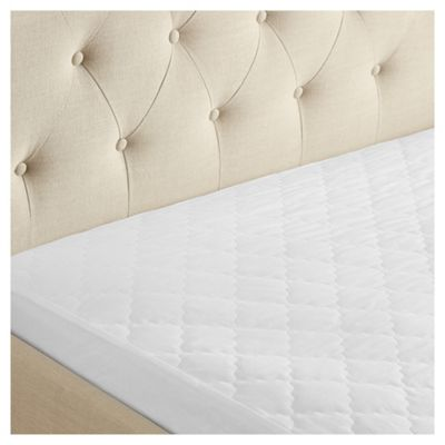 Fox & Ivy Cotton Covered Mattress Protector Double