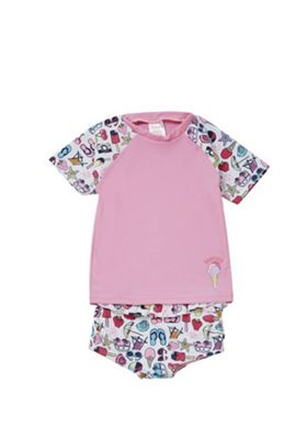 Babeskin Holiday Print UPF 50+ Rash Top and Shorts Set Multi 5-6 years