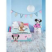 Minnie Mouse Toddler Bed Pink & Fully Sprung Mattress