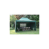 Airwave Pop Up Gazebo Fully Waterproof 4.5x3m in Green
