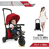 SmarTrike 7 in 1 Folding Smart Trike 400, Red