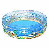 "Transparent Sea Life Paddling Pool 59"" - 51045"