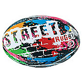 Optimum Street Rugby League Union Ball - Multicolour - 5