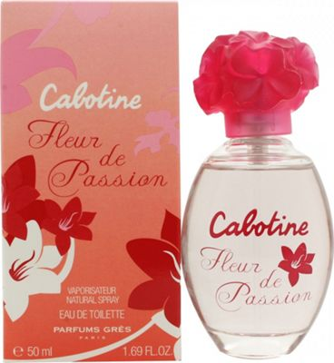 Gres Parfums Cabotine Fleur de Passion Eau de Toilette (EDT) 50ml Spray For Women
