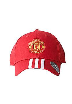 adidas 3 Stripe Manchester United Cap Red - Kids