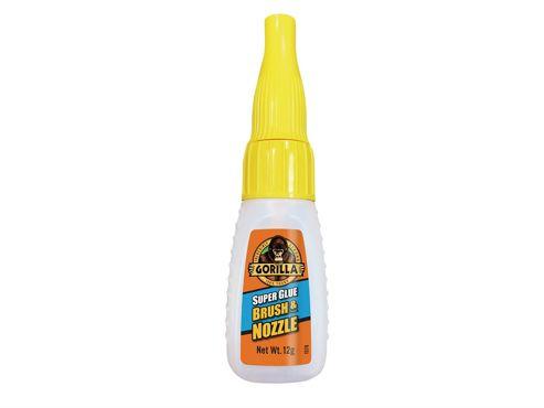 Gorilla Glue Gorilla Super Glue Brush & Nozzle 12g