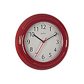 Acctim 21414 Wycombe Wall Clock Red