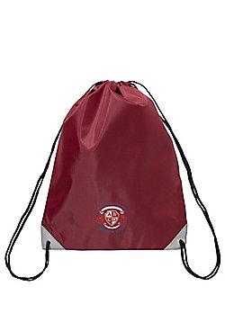 Embroidered Drawstring PE Bag