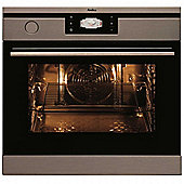 Amica 1143.3TPX Built-in or under Electric Single Steam Oven in Stainless Steel