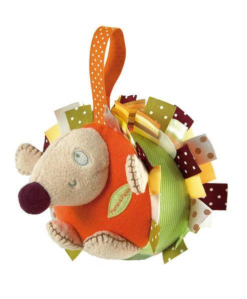 Mamas & Papas - Hodge Podge - Soft Chime Toy Hedgehog
