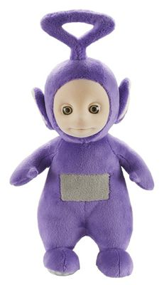 """Teletubbies 8"""" Collectable Talking Soft Plush - Tinky Winky"""