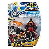 Batman Unlimited Figure - Batman and Tiger Claw