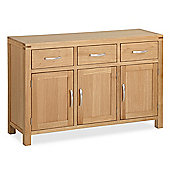 Abbey Light Oak Sideboard - Large Sideboard - 3 Door Sideboard