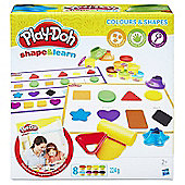 Play-Doh Shape & Learn Colours & Shapes